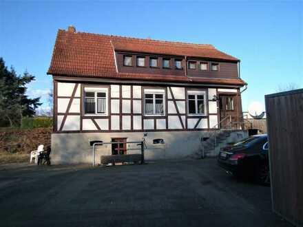 Zweifamilien Fachwerkhaus in ländlicher Lage Fränkisch-Crumbach