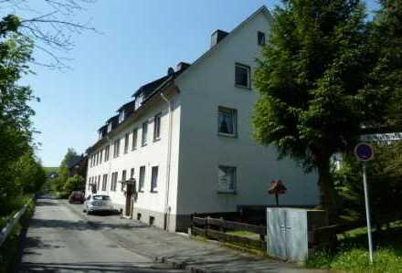 gemütliche und gut aufgeteilte Wohnung mit Wohnküche in zentraler Lage in Erndtebrück