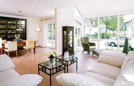 Modernes Wohnen für die kleine Familie im Grünen