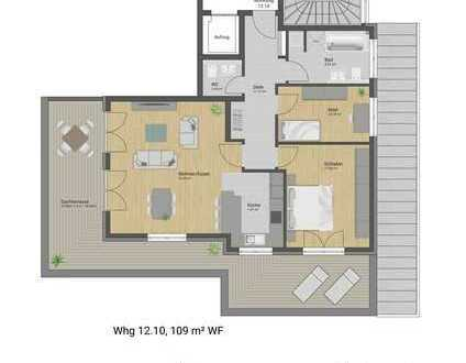 Exklusive Penthouse-Wohnung mit Panorama-Dachterrasse