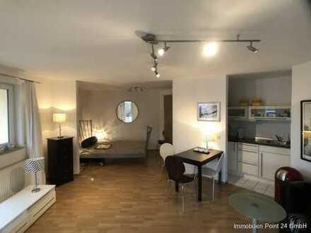 Möblierte 1-Raum-Wohnung in Erfurt-Kühnhausen