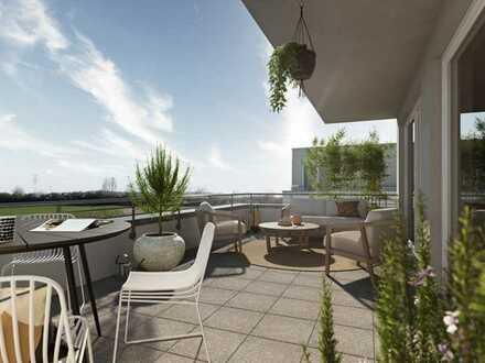Exklusive Penthouse-Wohnung mit umlaufender Dachterrasse