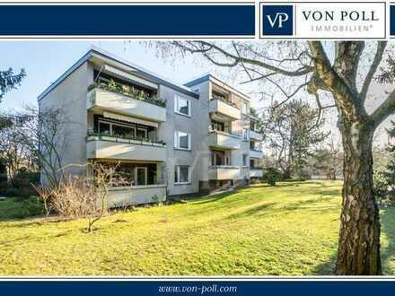 3 Zimmer-Wohnung mit großer Loggia, Hobbyraum, Wasserzugang und Stellplatz in Wannsee