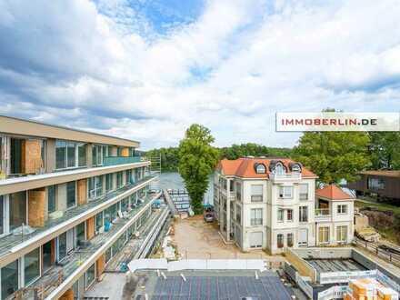 IMMOBERLIN.DE - Exquisite Neubauwohnung direkt am See! Wohnraum & Wellnesskomfort auf Topniveau