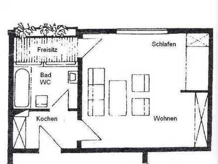 Provisionsfrei: Singlewohnung in Weinheim-West!