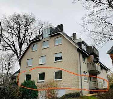 Attraktive 4-Zimmer-EG-Wohnung mit Balkon und Einbauküche in Glücksburg