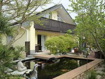 Wie ein Neubau, Energieeffizienzhaus in ruhiger Lage mit wunderbarem Grundstück