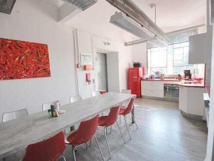 1.265m² individuelle Gewerbeeinheit in Loftstil in historischem Gebäude (Teilflächen möglich)