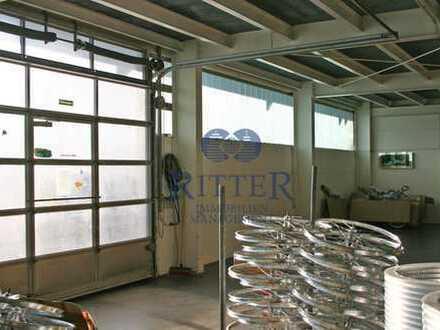 -RITTER- Gepflegte Produktionsfläche ca. 3.000 m² * hohe Bodenbelastung * Büro