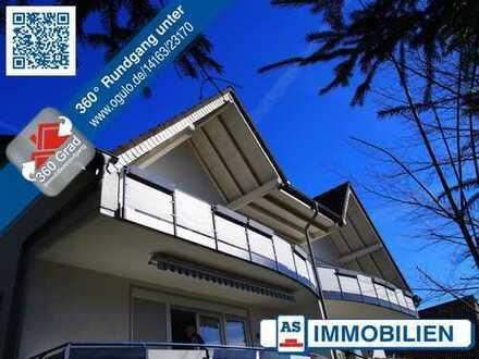 AS-Immobilien.com +++ eine tolle Dachgeschossetage mit großem Balkon & Abendsonne