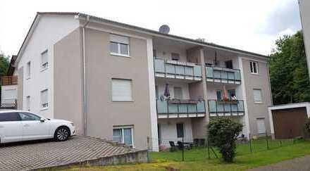 Vollständig renovierte Wohnung mit Balkon in ruhiger Ortsrandlage