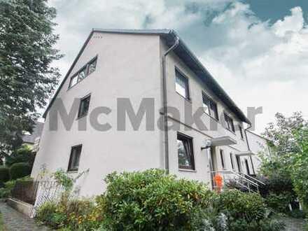 Familienfreundlich in zentraler Stadtteillage: Gepflegte DHH mit Terrasse & Garage in Fürth-Stadeln