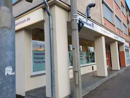 Zentrale Büro- und Ladenfläche