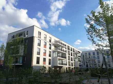 Erstbezug mit EBK und Balkon: moderne 3-Zimmer-Neubauwohnung in Düsseldorf