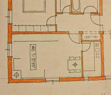 Helle 2-Zimmer-Wohnung mit Einbauküche nähe Klinikum Ingolstadt