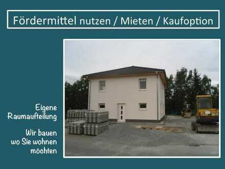 Home Office mit eigenem Garten + auch 5 Zimmer möglich