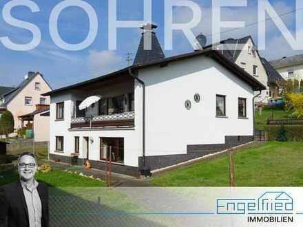 RESERVIERT: Großzügiges, ruhig gelegenes Einfamilienhaus/Bungalow mit Einliegerwohnung in Sohren