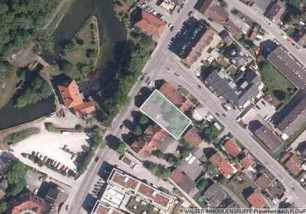 WALSER: Baugrundstück für Wohn- und Geschäftshaus im Herzen von Olching!