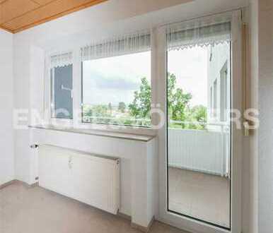 Hoch hinaus - 3-Zi-Whg mit Fahrstuhl und Balkon