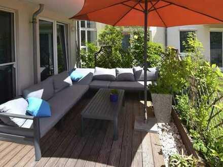 5-Raum-Eigentumswohnung mit Fahrstuhl und Dachterrasse in begehrter Wohngegend