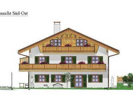Erstbezug: stilvolle 2-Zimmer-Wohnung mit Süd-Balkon und Bergblick in Wallgau