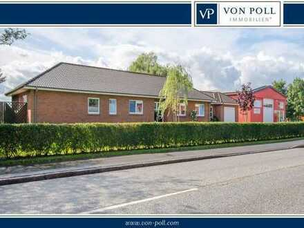 VON POLL Christiansholm: Exklusiver Bungalow plus Gewerbeeinheit & Photovoltaikanlage
