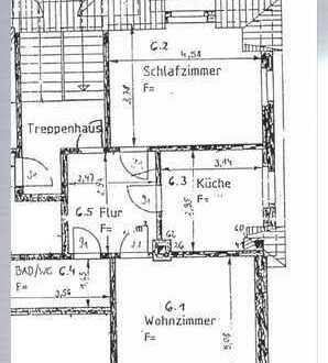 Wohnen in Chemnitz Siegmar - 2-Raum Wohnung im sanierten Altbau