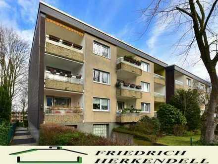 Lichtdurchflutet + Parkettböden + Südloggia + Garage + ruhige, zentrale Wohnlage