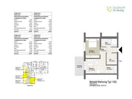 Neubauwohnung im Wohnquartier Davert (WBS) Whg. 3