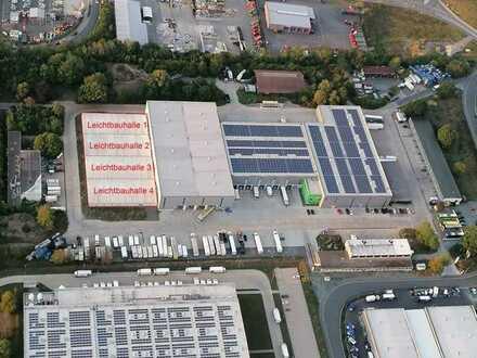 3.600 m² Lagerhalle in DE - 95448 Bayreuth an der Autobahn A9 - teilbar
