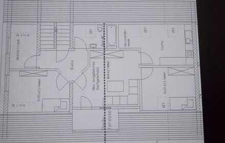 Freundliche 3-Zimmer-DG-Wohnung mit Balkon und Einbauküche in Tafertshofen