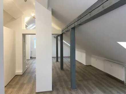 Neue DG-Studio-Wohnung mit Pkw-Stellplatz zwischen Neumarkt - Berg - Altdorf und Hersbruck