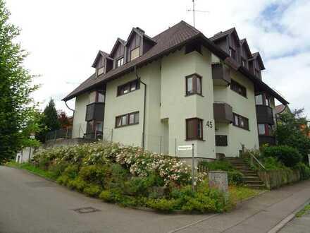 Tolle 3 Zimmer Obergeschosswohnung mit 2 Balkonen