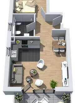 Neubau: 2-Zimmer-Wohnung mit Südbalkon im 5-Familienhaus mit dem besonderen Plus