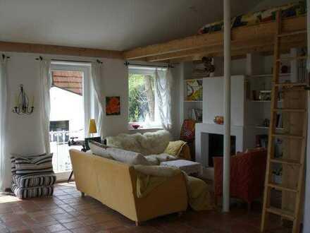 Ammersee-Wohnung, schönstes Schondorf mit Seeblick, Kamin, 3 Monate