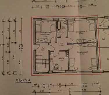 EG-Wohnung 3 ZKB in Werlte ab 20.12. auch für Monteure geeignet