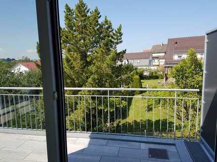 Erstbezug: attraktive 3,5-Zimmer-Wohnung mit Balkon in Kleinsachsenheim