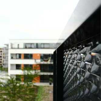 Anspruchsvoller Neubau: 3 Zimmer, 2 Bäder, Balkon