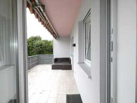 Vermietete Erdgeschoßwohnung mit Terrasse