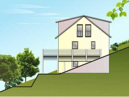 Bauplatz am Südhang in Raumbach, Ende einer Sackgasse, 40 €/m² voll erschlossen