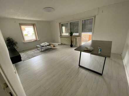 Vollständig renovierte 3-Zimmer-Wohnung mit Balkon und EBK in Philippsburg
