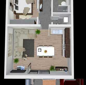2 Zimmer Wohnung mit moderner Planung und Liebe zum Detail