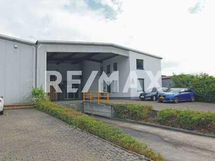 Gewerbeimmobilie Hallen und Bürofläche in Annweiler