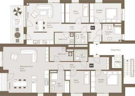 1.OG: Wohnung Nr. 3 - RESVERVIERT