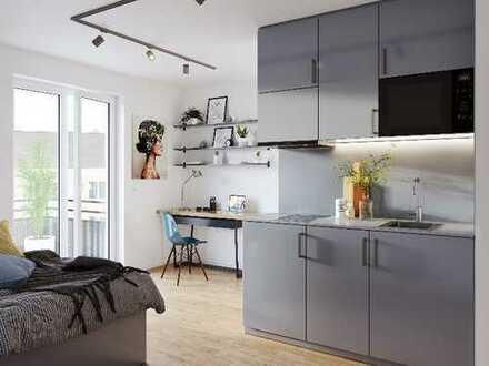 ***Barrierefreies Studentenapartment mit Einbauküche und Balkon in idealer Lage***