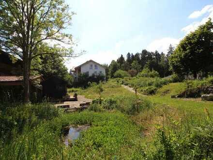 Idyllisches Baugrundstück mit Bergblick in Lechbruck am See