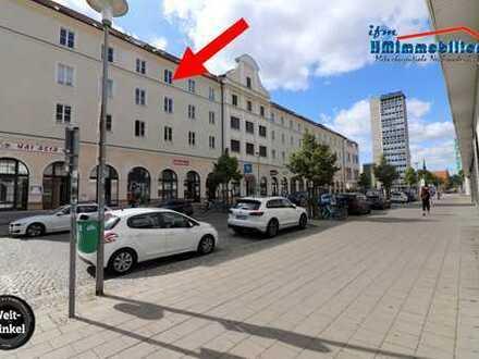 Single-Wohnung, 2-Zimmer, Innenstadt zwischen Marktplatz, Boulevard und Marienkirche