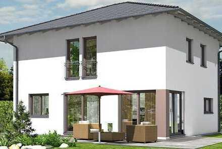 Neubau-Stadtvilla in massiver Ziegelbauweise auf großem Grundstück zum Topp-Preis!