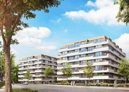 Attraktive, moderne 3-Zimmer-Wohnung mit umlaufender Terrasse