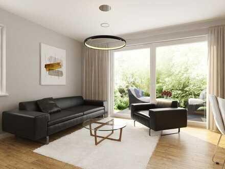 4 Zimmer 95,39 m² Wfl. Erdgeschoss mit Garten
